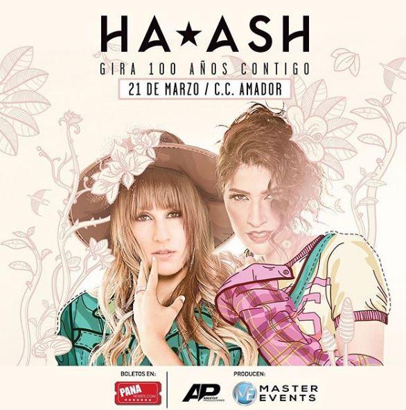 Photo of Concierto de Ha*Ash en Panamá