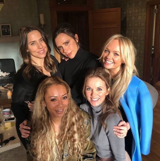 Photo of Las Spice Girls se reunieron en el Reino Unido