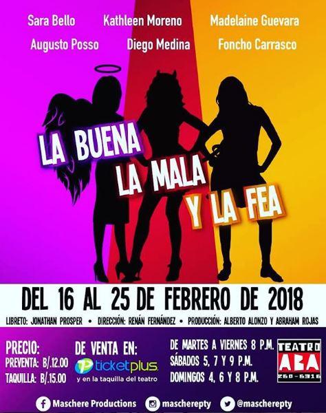 Photo of La buena, La Mala y La Fea