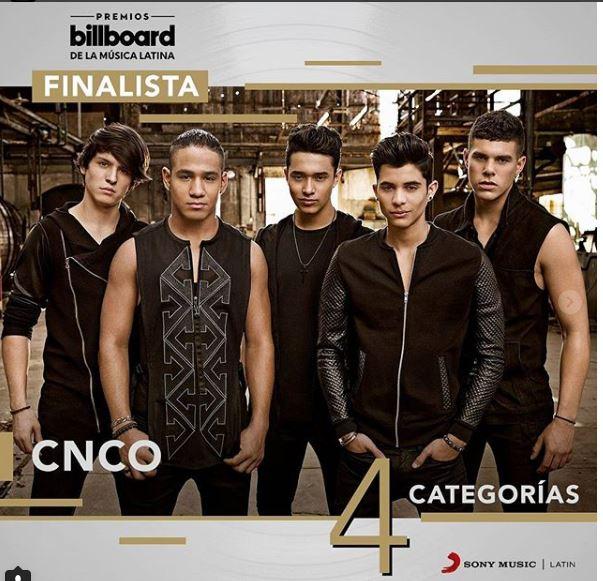 Photo of CNCO con 4 nominaciones a los Premios Billboard