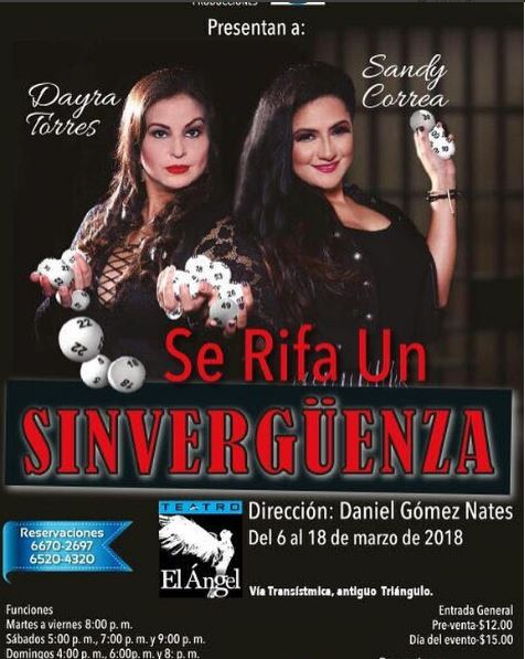 Photo of 'Se rifa un Sirvenguenza' en Teatro el Ángel