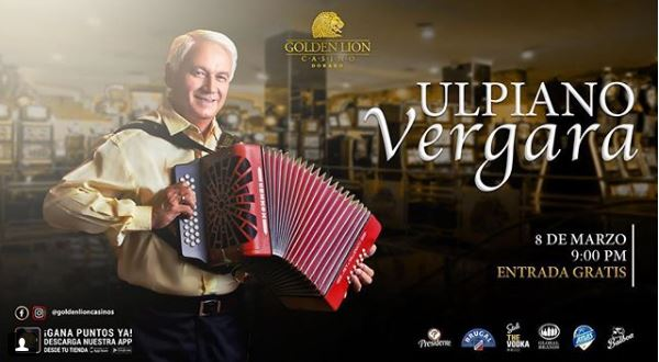 Photo of Ulpiano Vergara en Golden Lion