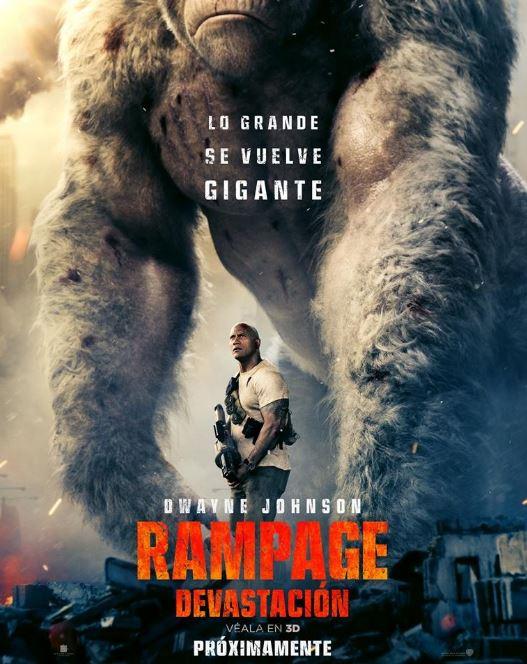 Photo of Estrenan 2do. Tráiler de 'Rampage: devastación'
