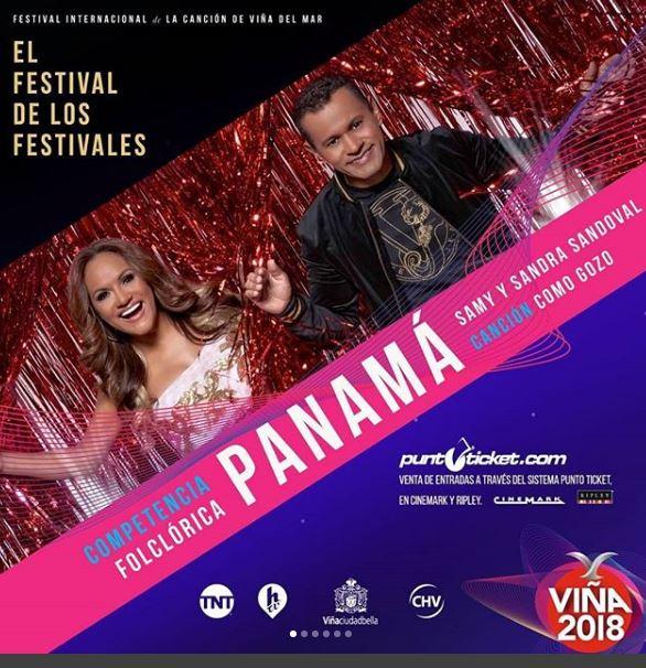 Photo of Samy y Sandra Sandoval listos para el 'Festival Viña del Mar'