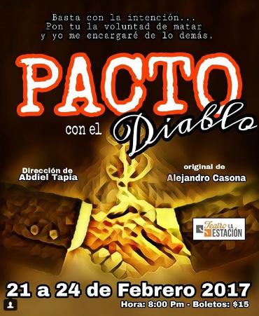 Photo of Esta noche disfruta de la obra 'Pacto con el Diablo'