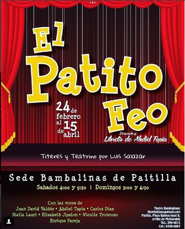 Photo of Disfruta a partir de hoy de BambaTíteres con 'El Patito Feo'
