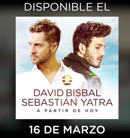 Photo of David Bisbal estrena 'A partir de hoy' junto a Sebastián Yatra
