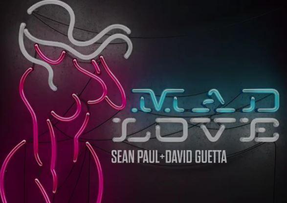 """Photo of Sean Paul, David Guetta & Becky G lanzan """"Mad Love"""""""