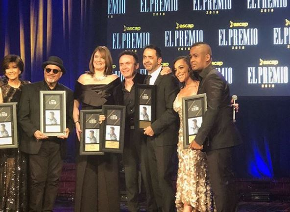Photo of 'Vine a Buscarte' recibe Premio de ASCAP