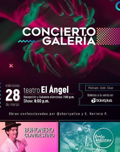 Photo of Concierto Galería en Teatro el Ángel