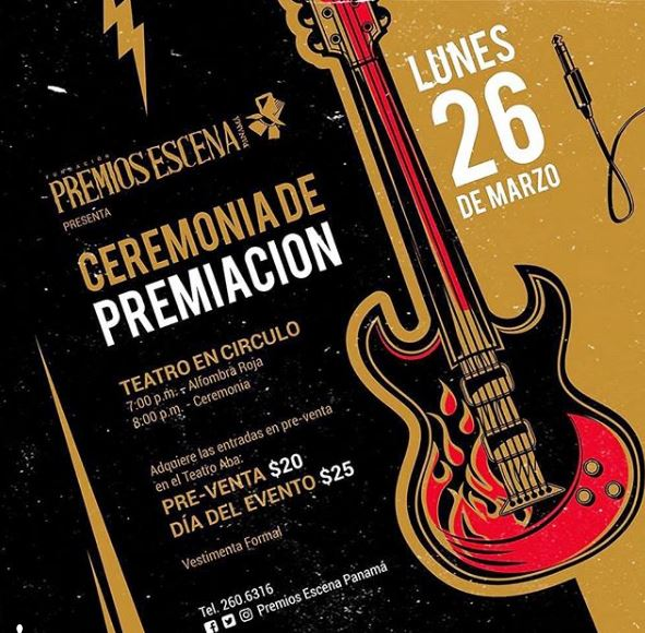 Photo of Premios Escena Panamá