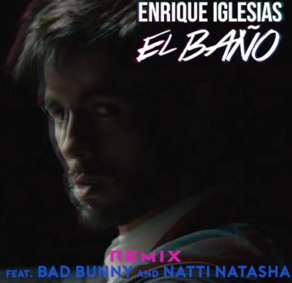 Photo of Enrique Iglesias estrena la versión Remix de 'El Baño'