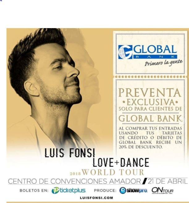Photo of Ya está activa la preventa para el concierto de Luis Fonsi