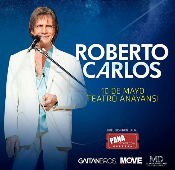 Photo of Ya están a la ventas los boletos para 'Roberto Carlos'