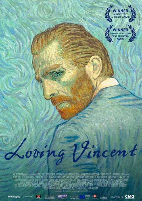 Photo of 'Loving Vincent' en jueves de estreno en Cinemark