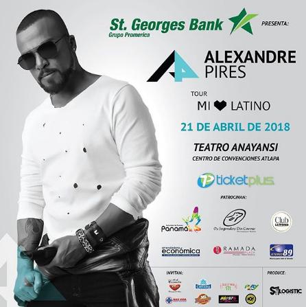 Photo of Alexandre Pires en Panamá
