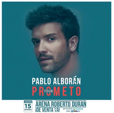 Photo of A tan solo 2 días  para recibir a Pablo Alborán en Panamá