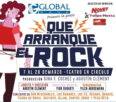 Photo of 'Que arranque el rock' en Teatro En Círculo