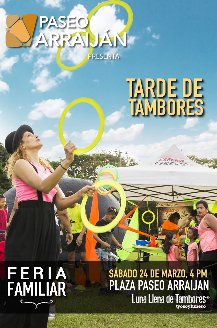 Photo of Paseo Arraiján presenta 'Tarde de Tambores'