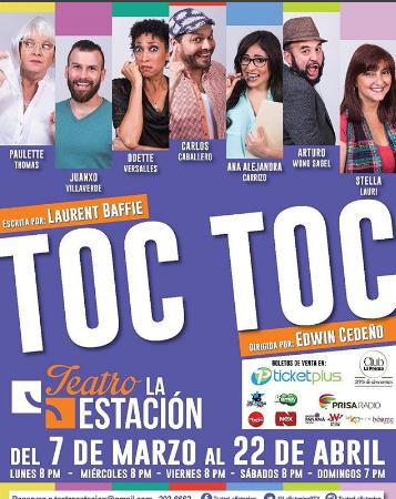 """Photo of Disfruta esta noche de la obra """"Toc Toc"""""""