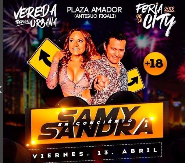 Photo of Samy Sandra Sandoval en Feria de la City