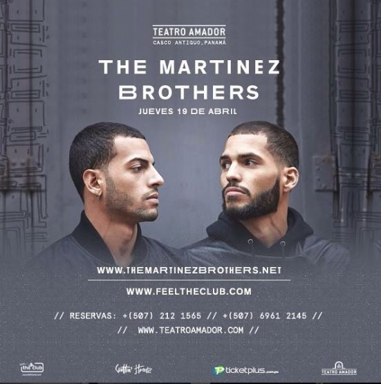 Photo of The Martinez Brothers en Panamá