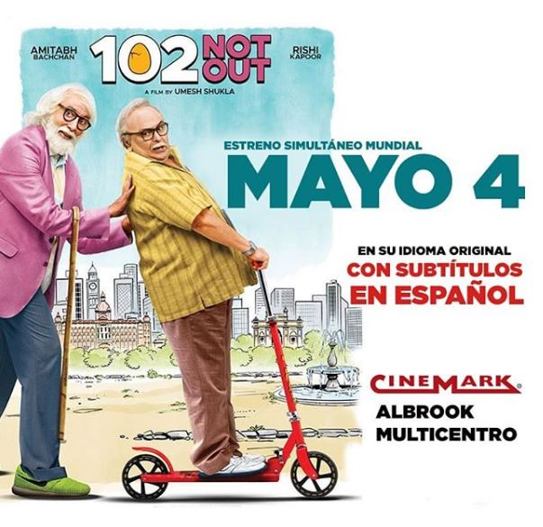 Photo of '102 Not Out' Estreno mundial