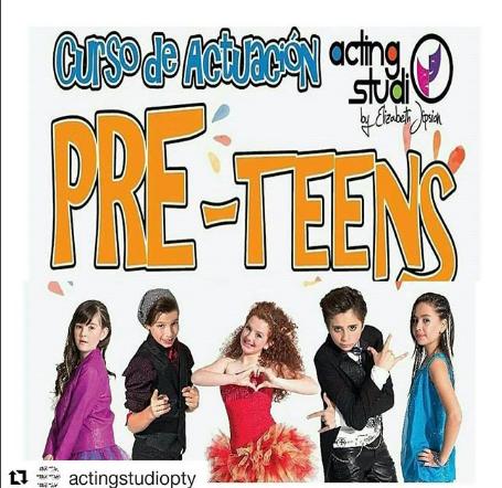 Photo of Curso de actuación para niños y niñas