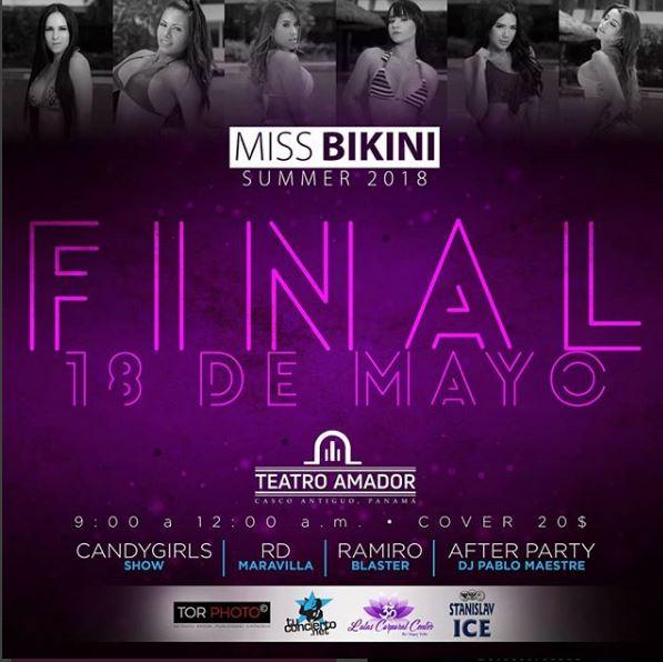 Photo of Esta noche la gran final de 'Miss Bikini Summer 2018'