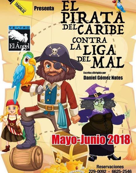 "Photo of Este fin de semana ""El Pirata del Caribe contra la liga del mal"""