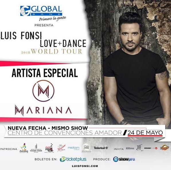 Photo of 'Mariana' será el invitado especial del concierto de Luis Fonsi