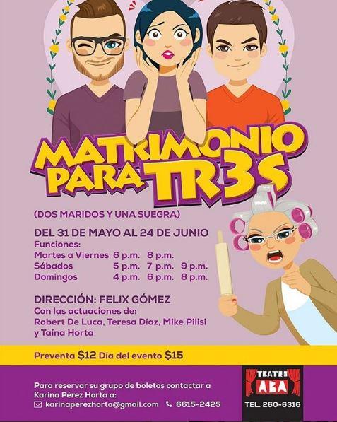 Photo of Panamá presenta la obra 'Matrimonio para Tres'