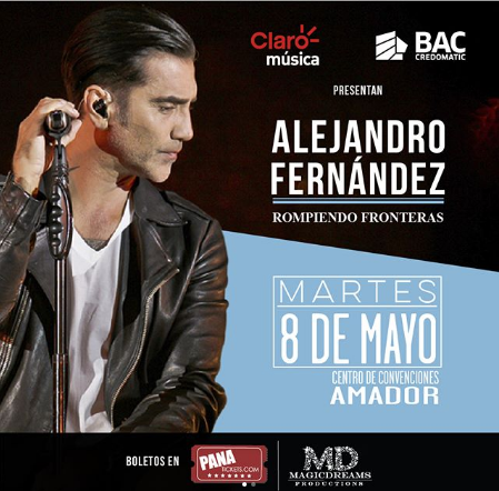 Photo of A solo 7 días para el concierto de Alejandro Fernández en Panamá