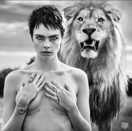 Photo of Cara Delevingne protagonizó una sesión de fotos en Sudáfrica
