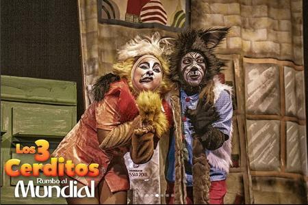 Photo of Disfruta de la obra «Los 3 cerditos rumbo al mundial»