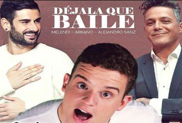 Photo of Melendi junto a Alejandro Sanz y Arkano estrena «Déjala que baile»