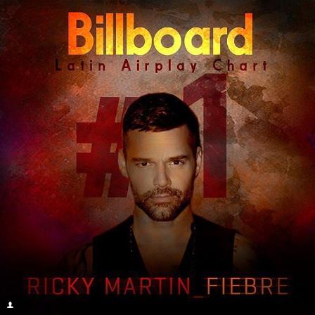 Photo of Ricky Martin con fiebre encabeza lista «Latin Airplay Billboard»