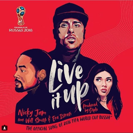 Photo of Nicky Jam y Will Smith, «Live It Up»: Canción oficial del Mundial Rusia 2018