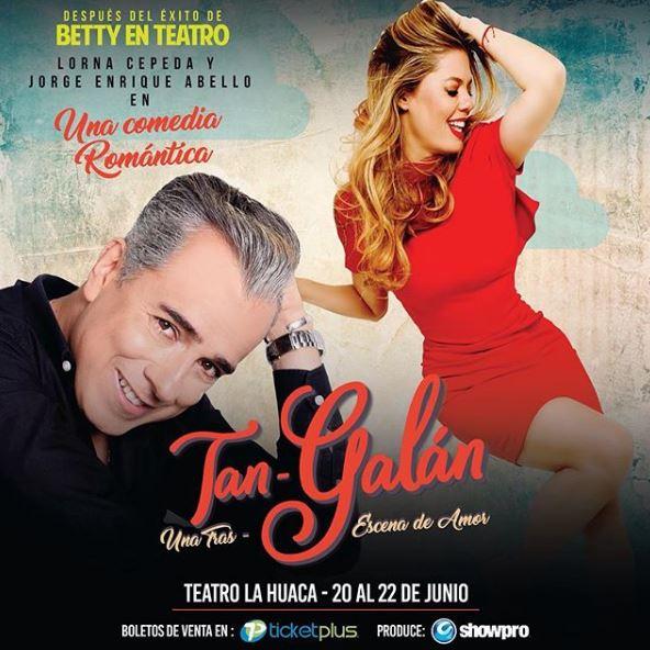 Photo of La comedia romántica 'Tan Galán' llega a Panamá