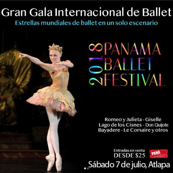 Photo of Panamá Ballet Festival 2018