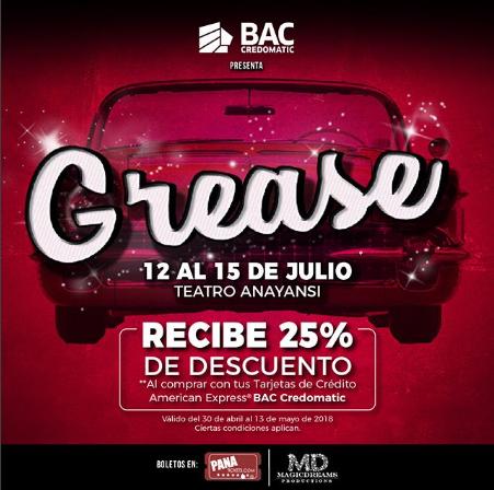 Photo of Descuento al 20% y 25% para «GREASE», el musical