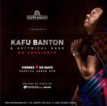 Photo of Esta noche el concierto de Kafu Banton