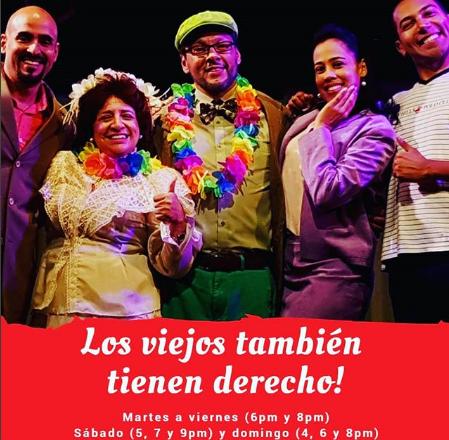 Photo of Disfruta de la obra «Los Viejos también tienen Derecho»