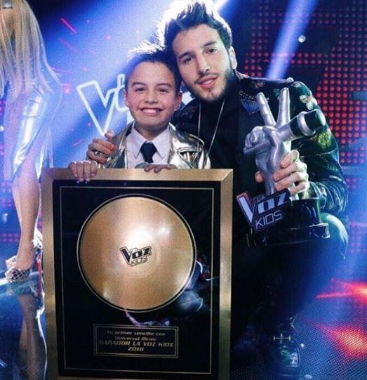 "Photo of Juan Sebastián Laverde es ganador de ""La Voz Kids 2018"""