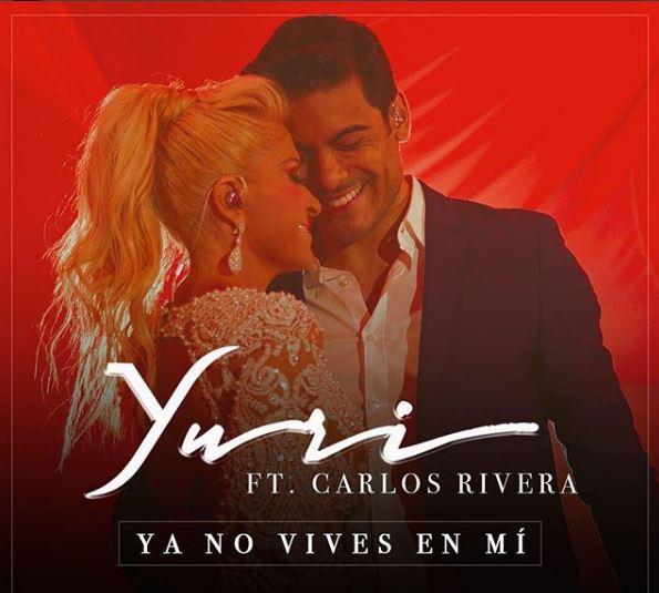 Photo of Yurí presenta la nueva versión de 'Ya No Vives En Mí' con Carlos Rivera