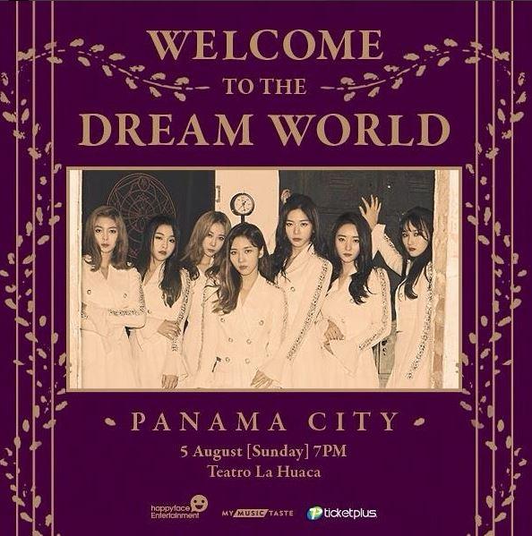 Photo of Dreamcatcher estarán en Panamá con Welcome To The Dream Worl