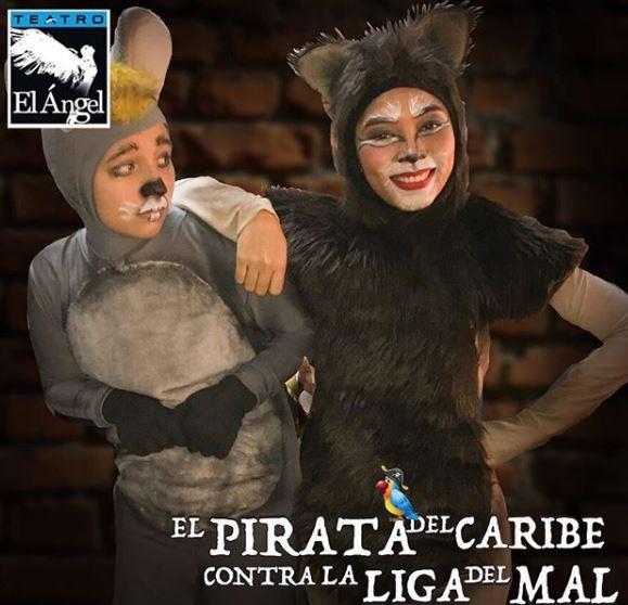 Photo of 'El Pirata del Caribe contra la Liga del Mal ' en Teatro el Ángel