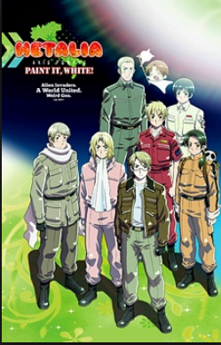 Photo of Disfruta en Cinemark de «Hetalia: Axis Powers Paint It, White»