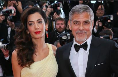Photo of George y Amal Clooney donaron a una asociación para los para los inmigrantes
