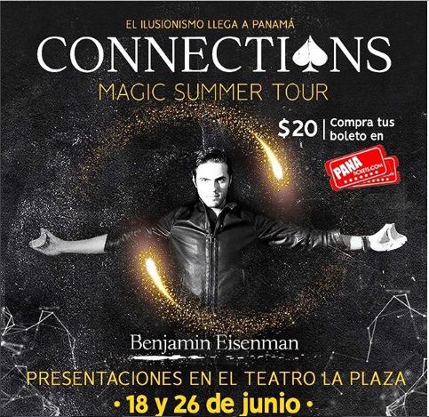"""Photo of Disfruta hoy del show de """"Connections"""" en Panamá"""
